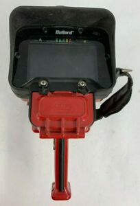 Bullard Thermal Imaging Camera Red No Battery Or Charger As Is