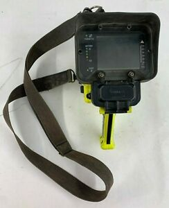 Bullard Mx Thermal Imaging Camera Yellow No Battery Or Charger As Is