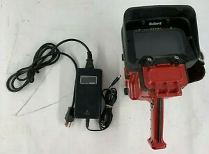 Bullard Tix Thermal Imaging Camera Red No Battery W Charger As Is