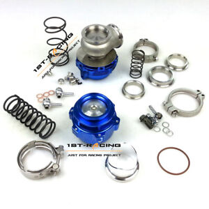50mm Bov 44mm 14psi Spring Wastegate Combo Turbo Blow Off Valve Bov 50mm Blue