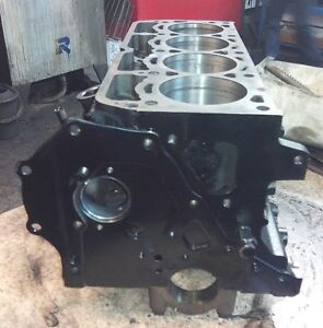 Toyota 5k Engine Block Bare Empty With New Sleeves Reconditioned