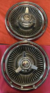 Chevrolet Corvette Hubcaps Spinner Tri Bar Wheel Covers Vintage Chevelle Camaro