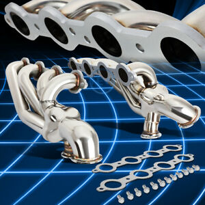 T 304 Stainless Turbo Manifold Exhaust Header For Sbc Ls1 Ls2 Ls3 Ls4 Ls6 Lsx V8