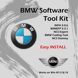 Bmw Standard Tools Inpa 5 0 6 Ncs Expert Winkfp 100 Working Easy Installation