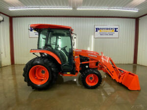 2019 Kubota L3560 Cab Tractor Loader A c And Heat