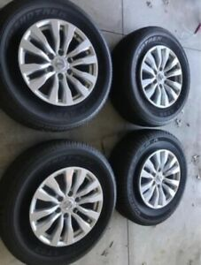 2017 2019 Nissan Armada Oem Factory Wheels And Tires Selling As A Set