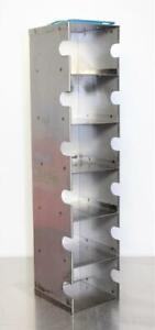 Stainless Steel Freezer Racks Cryo 6 Compartments
