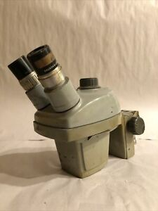 Vintage Bausch Lomb Zoom Microscope 0 7x 3x Working Condition