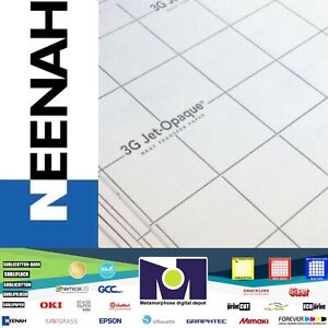 3g Jet Opaque Neenah Inkjet Heat Transfer Paper 8 5 x11 20 Sheets Free Delivery