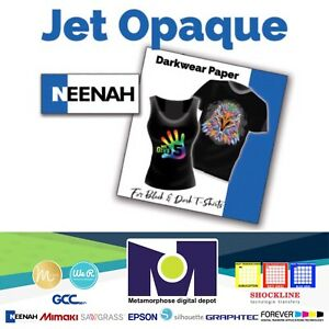 Jet Opaque Ii Ink Jet Transfer Paper For Dark Fabrics 50 Sh 8 5 x11 By Neenah