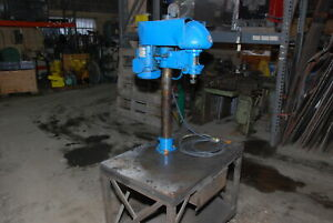Delta Rockwell Drill Press on Cart 1phase 115 230v w table 36 24 30 Inv 30094