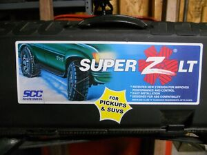 Security Chain Company Zt747 Super Z Lt Tire Traction Chain Set Of 2