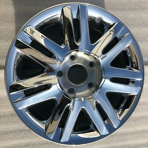 17 X6 5 08 09 10 Chrysler Town And Country Factory Oem Wheel Rim Chrome Clad