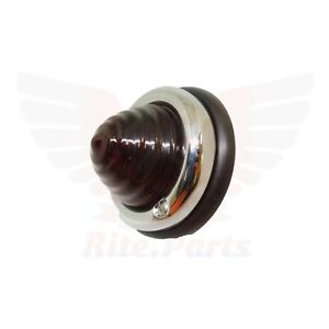 Taillight Beehive Light Amber Lens For 1950 1957 Porsche 356 356a