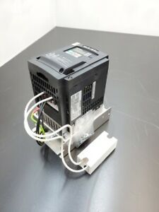 Hitachi Vfd Inverter Drive Wj200 004hf 3 Phase 0 4kw 380 480v In out 2a 1 2 Hp