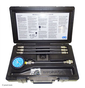 Motorcycle Compression Tester Set Small Engine Diagnostic Tool Otc Tools