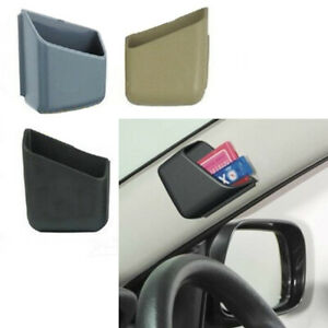 2pcs Universal Auto Car Accessories Phone Organizer Storage Bag Box Holder New
