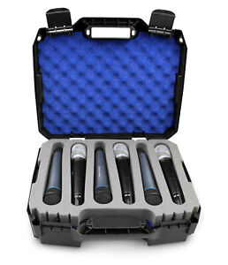 CM Wireless Microphone System Hard Case for 12 Microphones Mics Case Only $48.99