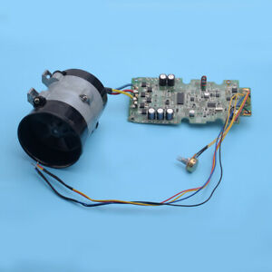 12v Car Electric Turbo Supercharger Kit Air Intake Fan Boost W Esc New