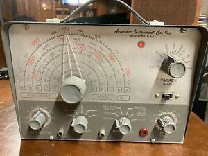 Vintage Accurate Instrument Co Genometer Model 156 New York Ny