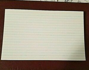Lot Of 5x8 Index Cards