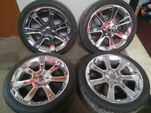 1998 2009 Ford Mustang Saleen 20 Inch Chrome Wheel Authentic Oem Set