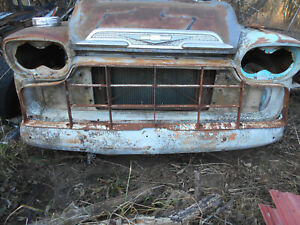 1958 1959 Chevrolet Gmc Truck Gm Accessory Grill Guard Bumper Wow 1955 1956 1957