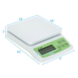 22 Lb X 0 1oz Digital Postal Shipping Scale Weight Postage 10kg 0 5 3x Battery