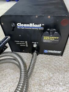 Clean Blast Fcl 81000 Fiber Optic Connector Cleaning System Microscope