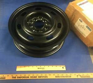 New Genuine Ford Mustang 1996 2003 15 Inch Black Spare Steel Wheel