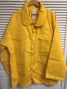 Nwot Old Stock Pgi Indura Wildland Firefighting Jacket Made In Usa 2xl