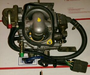 1987 89 Nissan D21 Hardbody Pickup Truck Z24i 2 4l Throttle Body Tbi Injectors