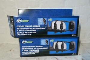Clip On Towing Mirrors Set Of 2