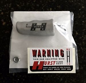 Nos Original Ford D0zz 1970 Boss 429 Mustang Hurst Aluminum T Knob One Year Only