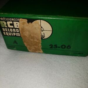 RCBS RELOADING DIES 25 06 Seat and TRIM DIE SET USED $60.00