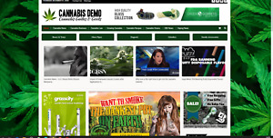 Cannabis News affiliate Products 100 Automated premium Designed