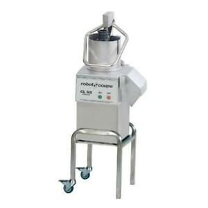 Robot Coupe Cl55 Pusher e 2 5 Hp Heavy Duty Food Processor W Pusher Feed