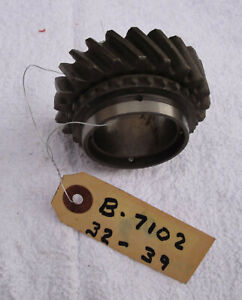 1932 To 1939 Ford Flathead New Nos Transmission 2nd Gear Part No B 7102