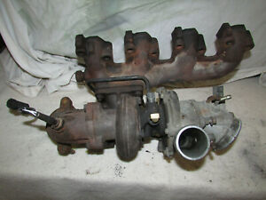 1987 1988 Ford Thunderbird Turbo Coupe 2 3l Turbocharger Exhaust Manifold Oem