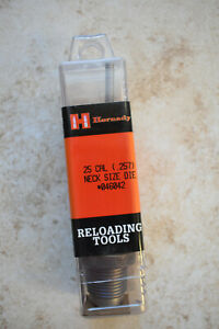 New Hornady Reloading .25 Cal Caliber .257 25 06 Neck Size Die 046042 Free Ship $25.00