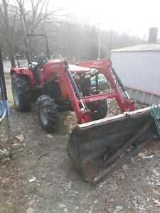 Mahindra 4550 And Trailer