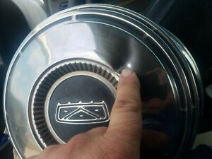 4 1967 1968 1969 Ford Galaxie Fairlane 10 5 Dog Dish Hub Caps F100 C8aa 1130 D