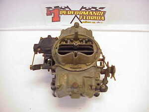 Holley 3310 3 Carburetor Carb 750 Cfm With Vacuum Secondaries
