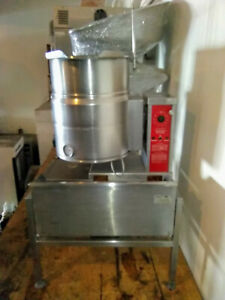 10 Gallon Tilt Self Containded Electric Kettle