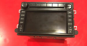 07 2007 Ford Expedition Radio Audio Navigation Gps Display Oem 7l1t 18k931 cb