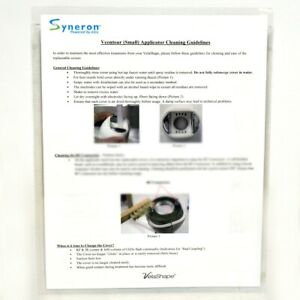 Syneron Elos Velashape Vsmooth Small Applicator Cleaning Guidelines Guide Photos
