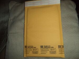 Lot Of 10 Pcs Jiffylite R 0 Bubble Mailers By Sealed Air Padded Envelopes 6x10