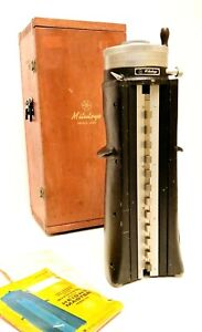 Mitutoyo 13 Height Master Gage 515 152 With Wood Storage Box Japan