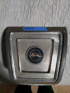 1965 1966 1967 Chevy Impala Rear Seat Speaker Grille Cover Housing Original Gm
