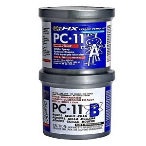 Pc products Pc 11 Epoxy Adhesive Paste Two part Marine Grade 1lb In Two Can